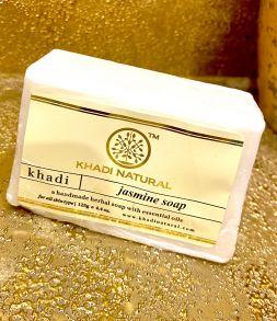 """JASMINE Soap Khadi (Мыло ручной работы """"Жасмин"""" Кхади), 125 г."""