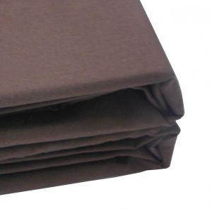 Простынь цвет шоколадный 100-3А