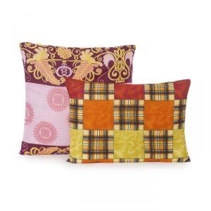 Подушка Эконом «Файбер», размер 68х68 см, цвет МИКС, полиэфирное волокно