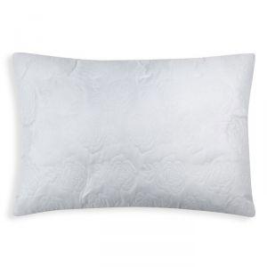 Подушка Роза  50х70 см цв. белый, полиэфирное волокно, пэ 100%   4086969