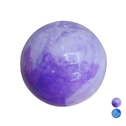Мяч ПВХ 22 см, перламутровый