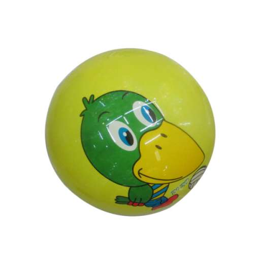 Мяч ПВХ 22 см, 60 гр, птица, деколь
