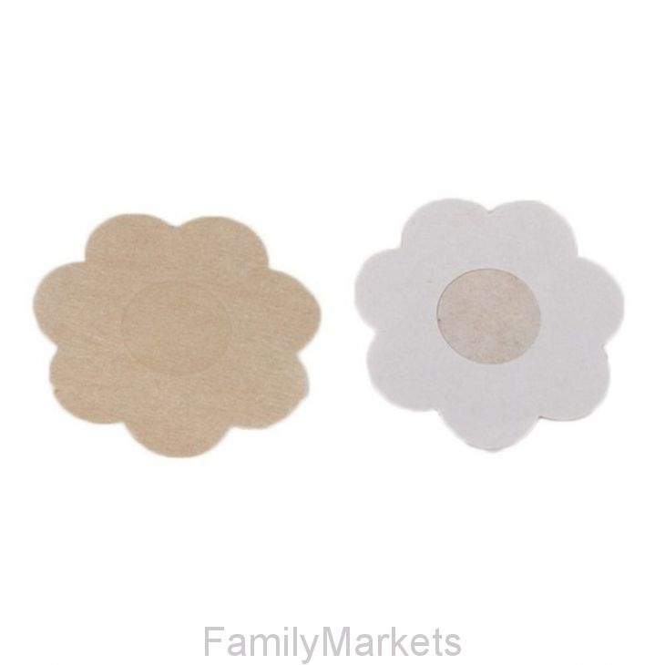 Одноразовые наклейки на соски Nipple Cover, 5 пар