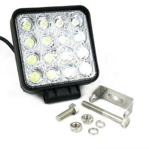 Квадратная светодиодная LED фара рабочего света 48W, Epistar