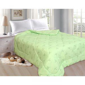 Одеяло Эконом Бамбук 172х205 см, полиэфирное волокно, 100гр/м, пэ 100%   4782658