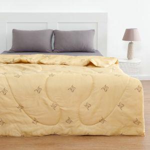 Одеяло Овечья шерсть 140x205 см, полиэфирное волокно 200 гр/м, пэ 100%   4086953
