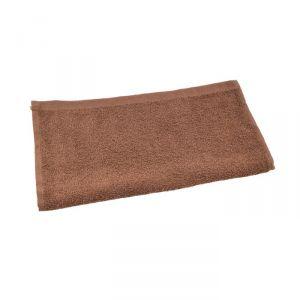 Полотенце махровое 30х30 см, коричневый, хлопок 100%, 360 г/м2   4443623