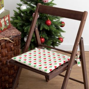 Подушка на стул «Этель» Ёлочка, 32х32 см, 100% хлопок 165г/м2