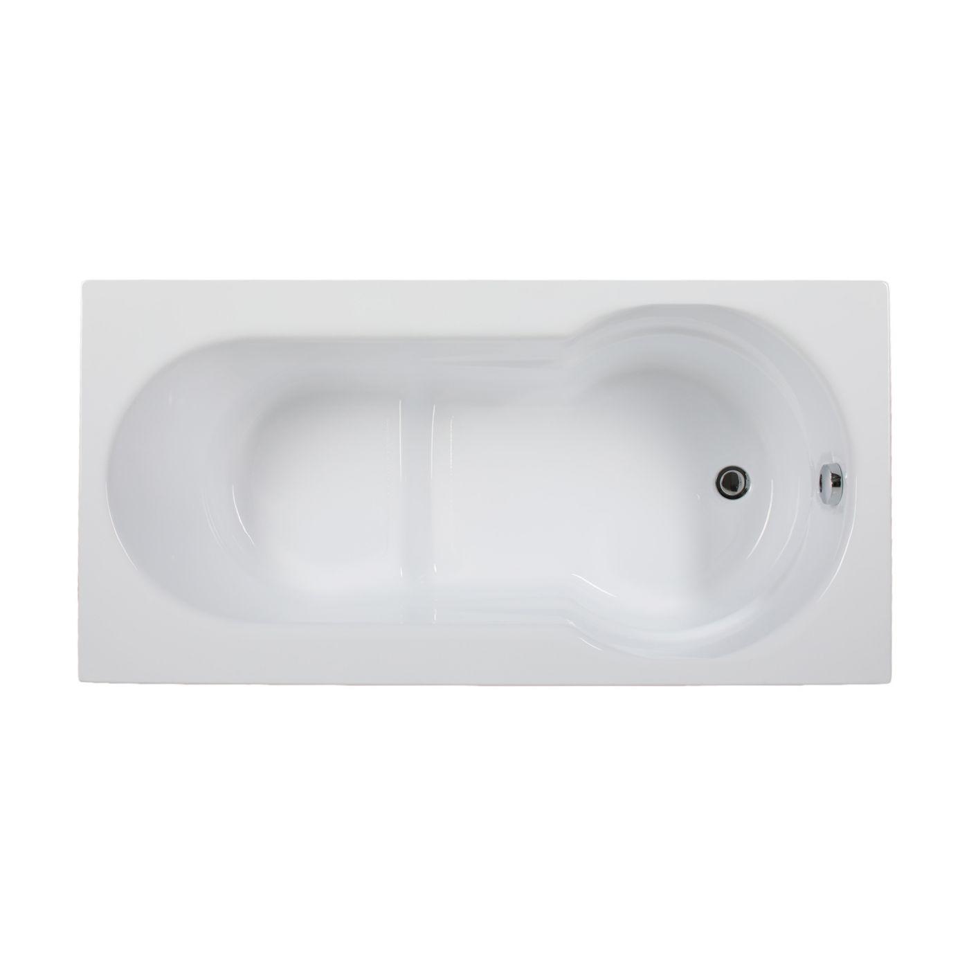 Акриловая ванна Aquanet LARGO 140*70