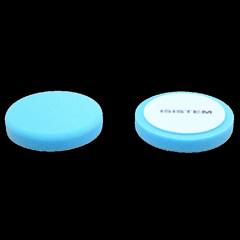 ISISTEM Полировальный круг из поролонa D150 mm T30 mm среднежесткий синий Norma 30 blue
