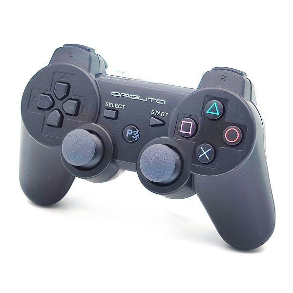 Геймпад PS3 б/п игровой Black (черный) OT-PCG02  (УЦЕНКА, ПОСЛЕ РЕМОНТА)