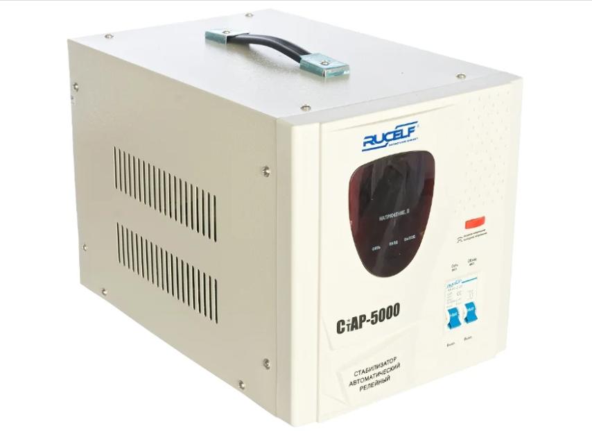 Стабилизатор напряжения однофазный RUCELF CTAP-5000VA