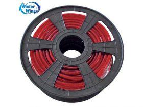 Гирлянда электр. дюралайт, красный, круглое сечение, диаметр 12 мм, 50 м, 2-жильный, 1500 ламп