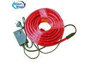 Гирлянда электр. дюралайт,3 жилы, красный,круглое сечение,диаметр 12 мм, 6м, 144 лампы, с контроллер