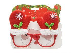 Карнавальные очки, 14.5*4.6 см, пластик, полиэстер