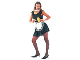 Карнавальный костюм ГОРНИЧНАЯ, в пакете с европодвесом