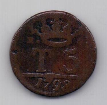 5 торнеси 1798 года Неаполь и Сицилия Италия