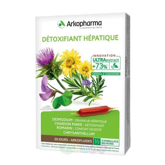 Arkopharma Очиститель печени Détoxifiant Hépatique