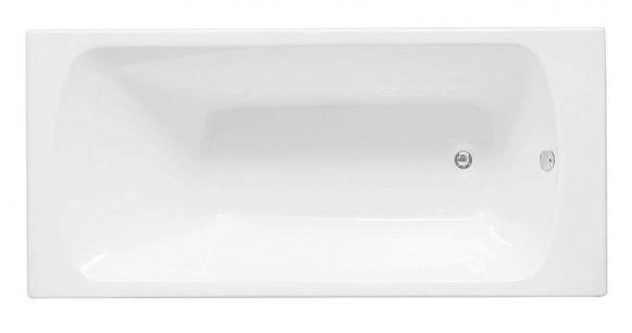Акриловая ванна Aquanet ROMA 160*70 без гидромассажа акрил