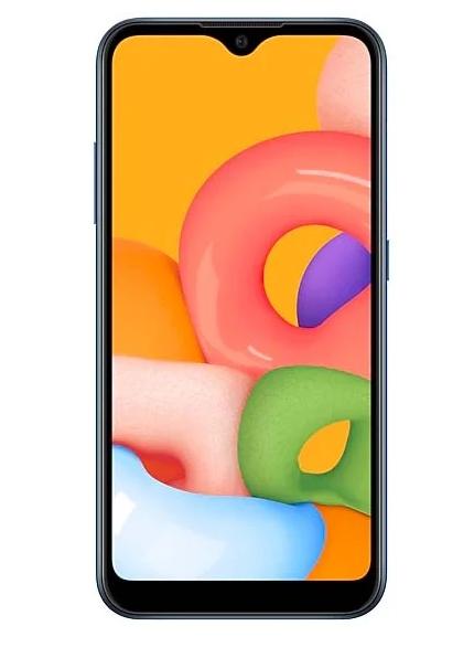 Смартфон SAMSUNG GALAXY A01 BLUE (SM-A015F)