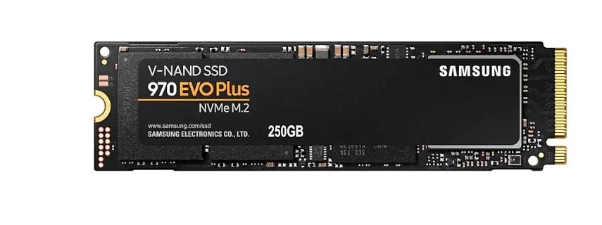 Твердотельный накопитель SAMSUNG 970 EVO Plus 250Гб (MZ-V7S250BW)