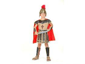 Карнавальный костюм РИМСКИЙ ВОИН, 11-14 лет, в пакете с европодвесом