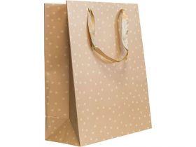 Пакет подарочный бумажный ламинированный ЛЮКС, 260*324*127 мм