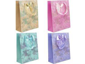 Пакет подарочный ламинированный, 20*25*8 см, бумага, 4 цвета