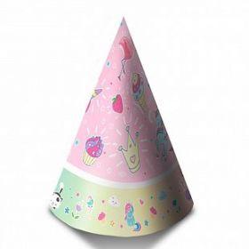 """Колпаки """"С Днем рождения"""" Волшебный мир., 6 шт."""