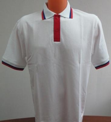 """Рубашка-поло """"триколор"""""""