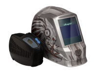Маска хамелеон СВАРОГ AS-4001F ХИЩНИК С УСТРОЙСТВОМ ПОДАЧИ ВОЗДУХА Р-1000