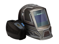 Маска хамелеон СВАРОГ AS-4001F ТЕХНО С УСТРОЙСТВОМ ПОДАЧИ ВОЗДУХА Р-1000