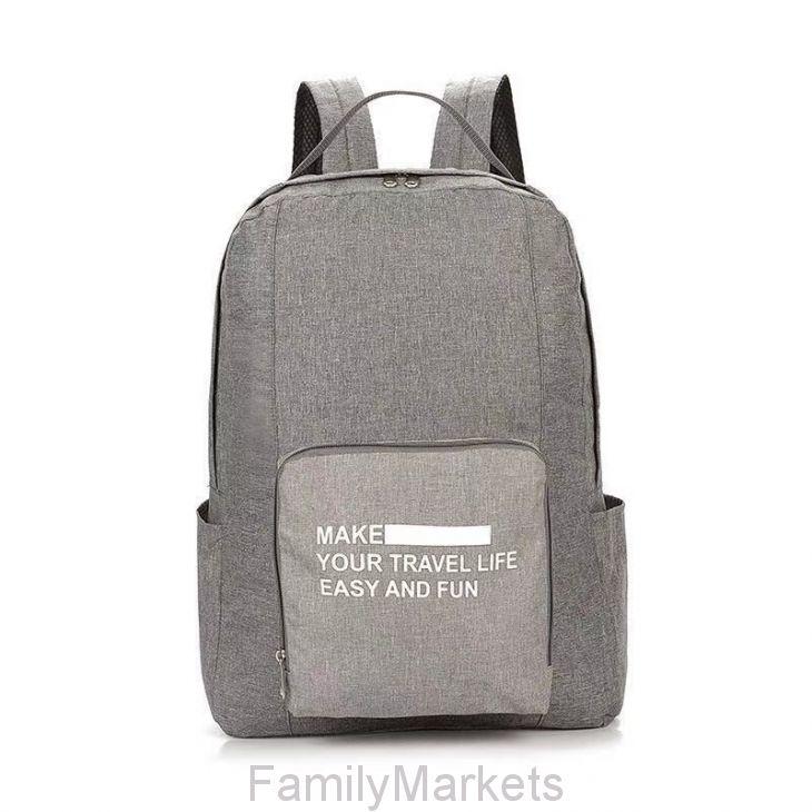 Складной туристический рюкзак New Folding Travel Bag Backpack 20