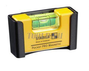 STABILA Pocket Pro Magnetic - Строительный уровень