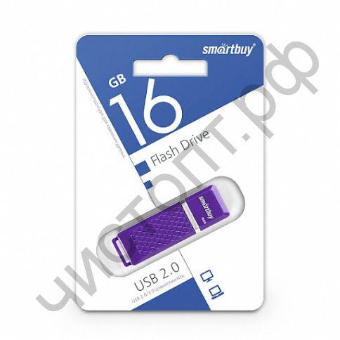 флэш-карта Smartbuy 16GB Quartz series Violet