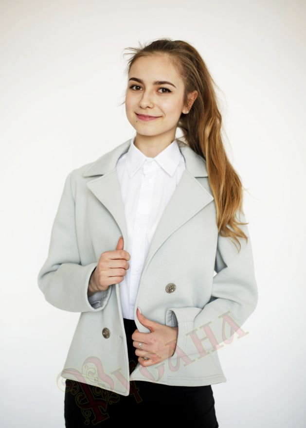 "Жакет из футера ""Вивьен"""