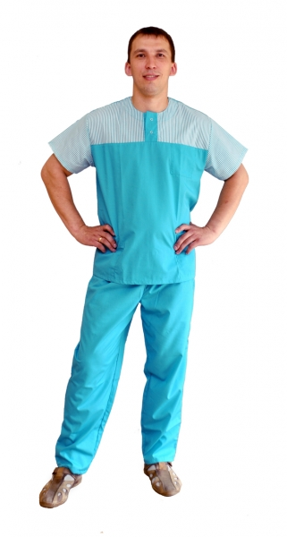 Костюм хирургический мужской Уэльс