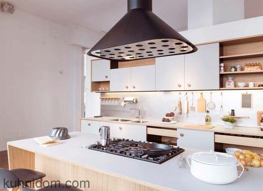 Кухня Fenix NTM 0029 Bianco Male