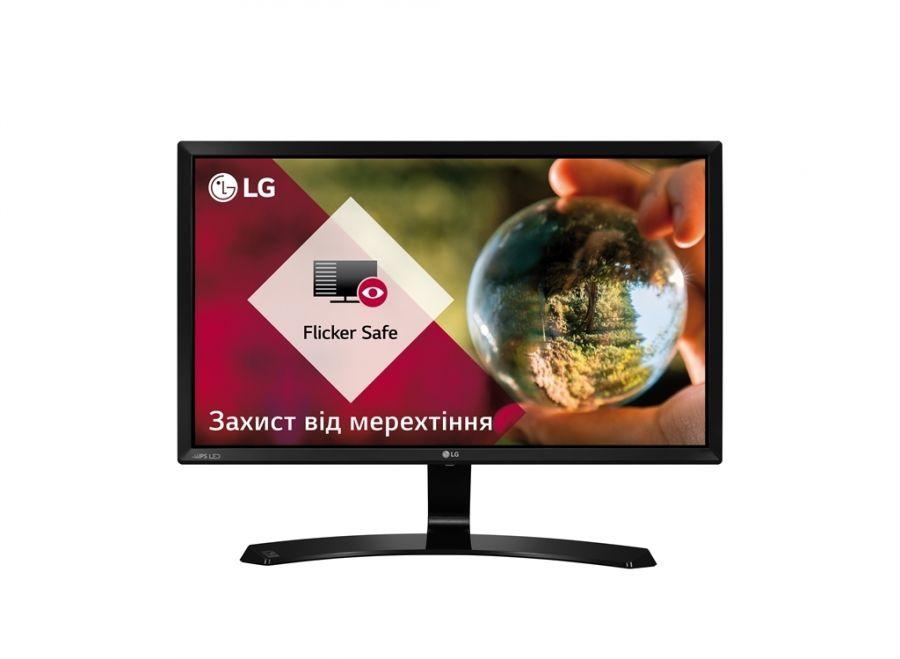 "Монитор LG 21.5"" 22MP58VQ-P IPS Black; 1920 x 1080, 5 мс, 250 кд/м2, D-Sub, DVI-D, HDMI"