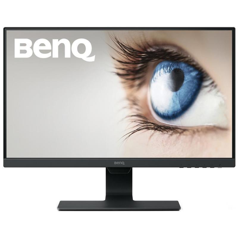 """Монитор BenQ 23.8"""" GW2480 IPS Black; 1920x1080, 5 мс, 250кд/м2, D-Sub, HDMI, Display Port, динамики 2х1 Вт"""