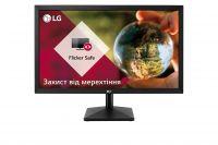 """Монитор LG 23.8"""" 24MK400H-B Black; 1920x1080, 2 мс, 250 кд/м2, HDMI, D-Sub"""