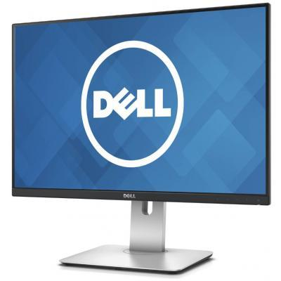 "Монитор DELL 24.1"" U2415 (210-AEVE) IPS Black/Silver; 1920x1200, 6 мс, 300 кд/м2, 2xHDMI, miniDisplayPort, 2хDisplayPort, 5хUSB3.0"