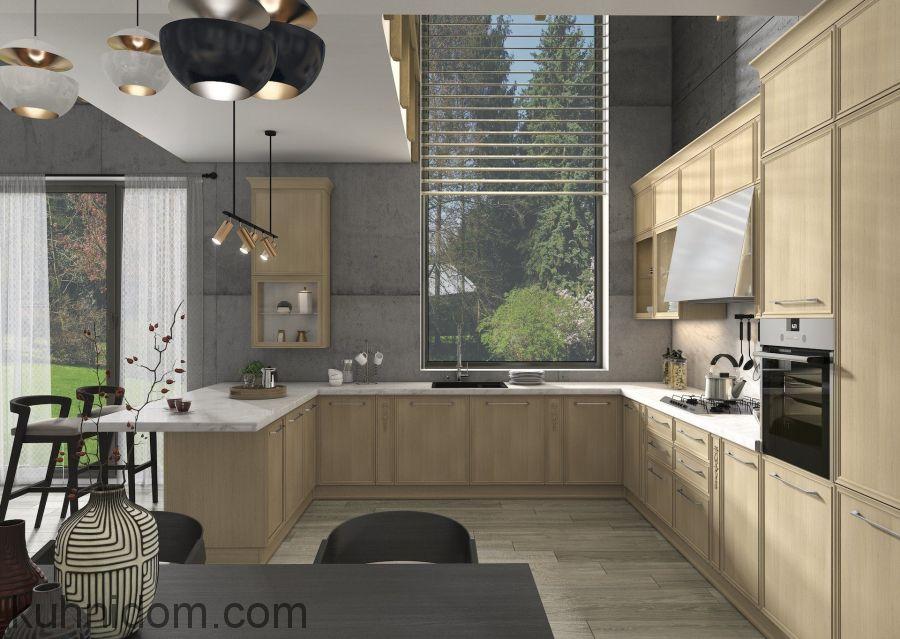 Кухня Венето Ровере с колонками