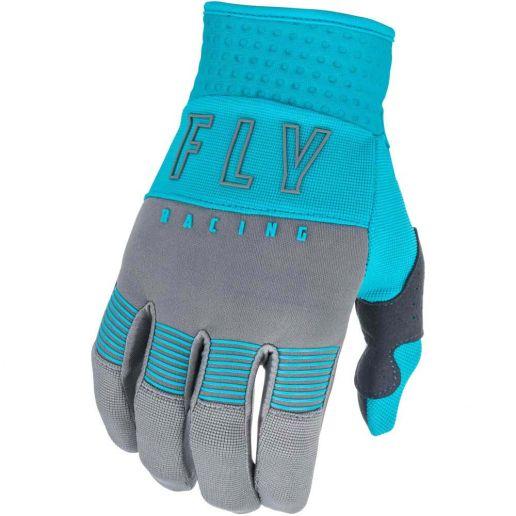 Fly Racing 2021 F-16 Grey/Blue перчатки