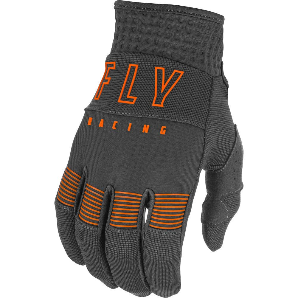 Fly Racing 2021 F-16 Grey/Orange перчатки