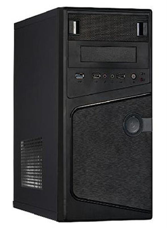 Персональный компьютер Expert PC Basic (I4920.04.S1.INT.C252); Intel Celeron G4920 (3.2 ГГц) / ОЗУ 4 ГБ / SSD 120 ГБ / Intel HD Graphics / без ОП / LAN / Ubuntu / черный
