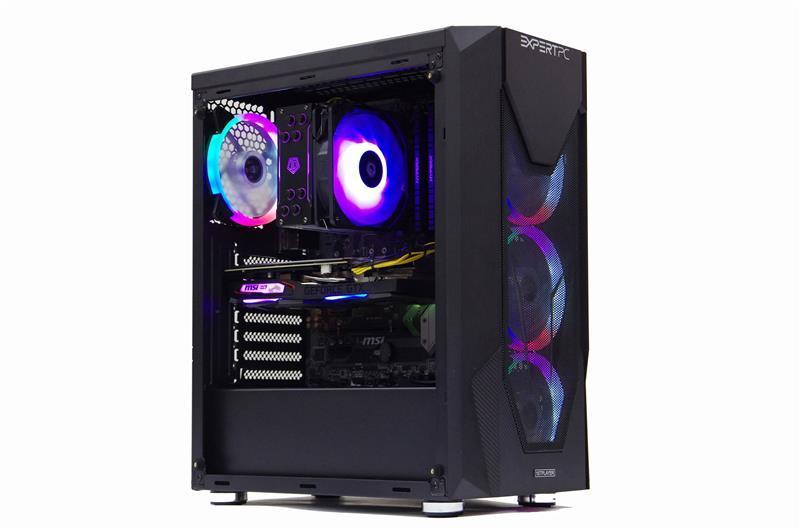 Персональный компьютер Expert PC Ultimate (A3600.32.H1S2.2060.C718); AMD Ryzen 5 3600 (3.6 - 4.2 ГГц) / ОЗУ 32 ГБ / HDD 1 ТБ + SSD 240 ГБ / NVIDIA GeForce RTX 2060 6 ГБ / без ОП / LAN / Ubuntu / черный