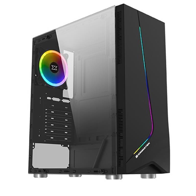 Персональный компьютер Expert PC Ultimate (I8600K.16.H1S2.1650.1291); Intel Core i5-8600K (3.6 - 4.3 ГГц) / ОЗУ 16 ГБ / HDD 1 ТБ + SSD 240 ГБ / NVIDIA GeForce GTX 1650 4 ГБ / без ОП / LAN / Ubuntu / черный