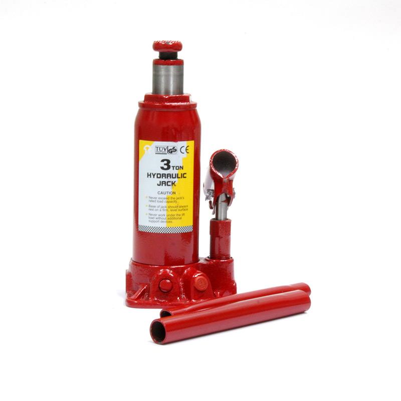 Домкрат гидравлический бутылочный Torin на 3 тонны, T90304