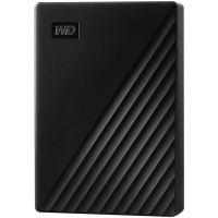 """Накопитель внешний HDD 2.5"""" USB 4.0TB WD My Passport Black (WDBPKJ0040BBK-WESN)"""